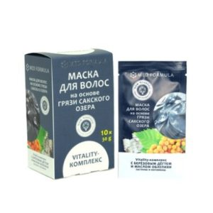 Маска для волос на основе Сакского озера - Vitality-комплекс питание и витамины