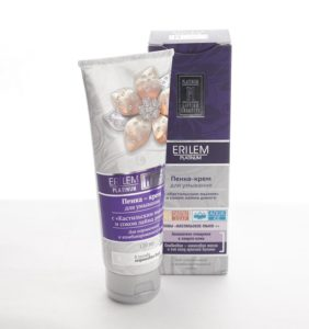 Пенка-крем для умывания, Erilem Platinum, 120 мл