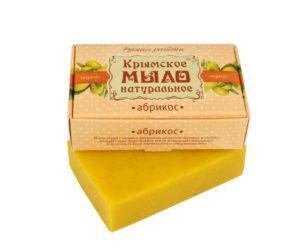 Крымское-мыло-натуральное-Абрикос