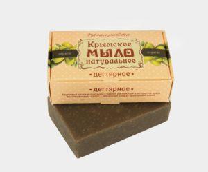Крымское-мыло-натуральное-Дегтярное.