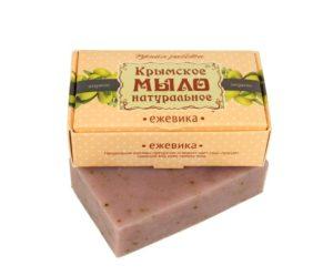 Крымское-мыло-натуральное-Ежевика.