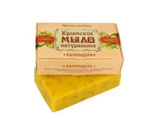 Крымское-мыло-натуральное-Календула.