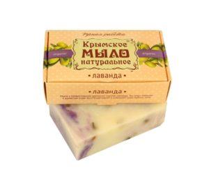 Крымское-мыло-натуральное-Лаванда.