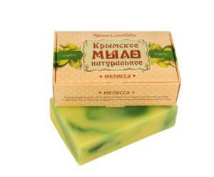 Крымское-мыло-натуральное-Мелисса