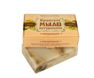 Крымское-мыло-натуральное-Миндальное.