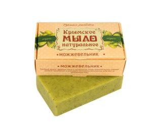 Крымское мыло натуральное Можжевельник