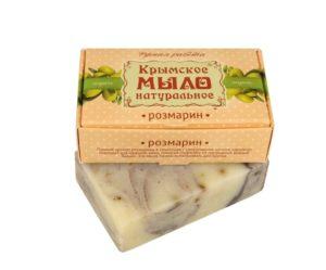 Крымское-мыло-натуральное-Розмарин