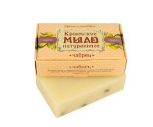 Крымское-мыло-натуральное-ЧАБРЕЦ
