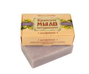 Крымское-мыло-натуральное-Шалфейное