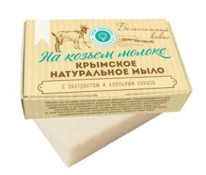 Мыло-на-козьем-молоке-Белоснежный-кокос.
