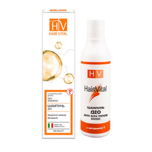 Шампунь ДЕО нормализующий секреторную функцию сальных желез Hair Vital