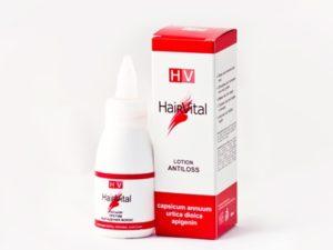 HAIR VITAL Лосьон против выпадения волос с экстрактом красного перца, экстрактом крапивы, апигенином, 50 мл