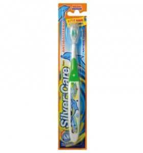 Зубная щетка Silver Care от 7 до 12 лет