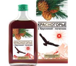 """""""Красногорье с брусникой - почечник"""", 250 мл"""