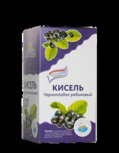 Кисель Черноплодно - рябиновый с сахаром