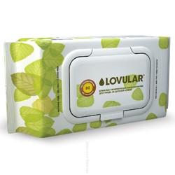 Влажные фито-салфетки Lovular 80 шт/уп