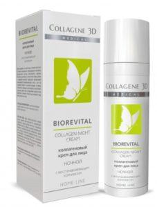 BIOREVITAL NIGHT коллагеновый крем для лица с восстанавливающим комплексом, ночной